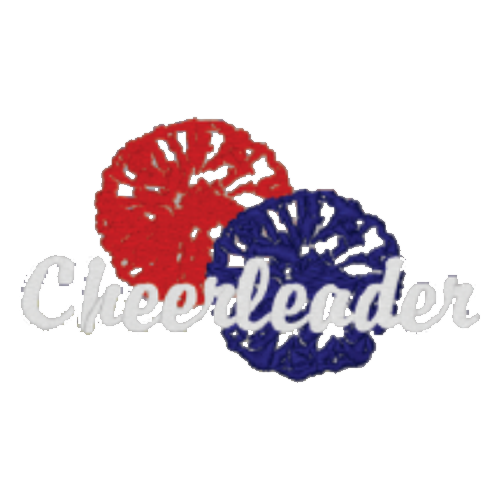 Cheerleading Embroidery Designs